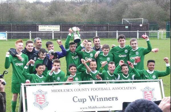 Middlesex Cup Winners